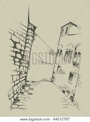 Vector Vintage Style Illustration