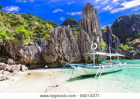amazing Philippines islands, El Nido. Palawan