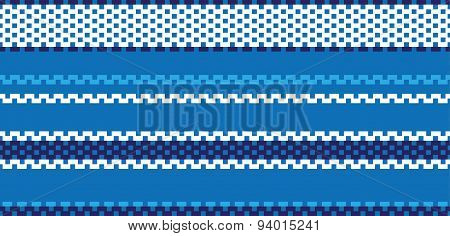 Fabric stitch seamless pattern