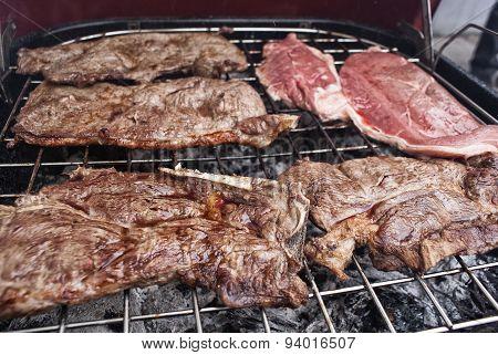 Grilled Meat Steaks