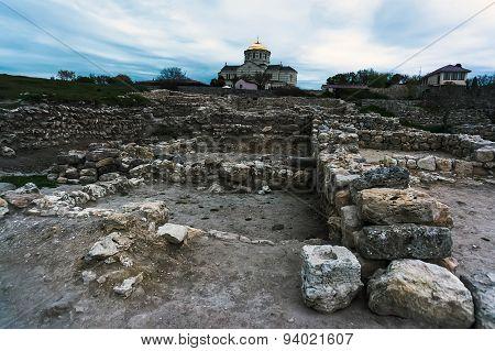 Ruins City Of Chersonese