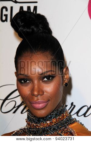 LOS ANGELES - MAR 3:  Jessica White at the Elton John AIDS Foundation's Oscar Viewing Party at the West Hollywood Park on March 3, 2014 in West Hollywood, CA
