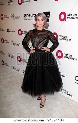 LOS ANGELES - MAR 3:  Kelly Osbourne at the Elton John AIDS Foundation's Oscar Viewing Party at the West Hollywood Park on March 3, 2014 in West Hollywood, CA