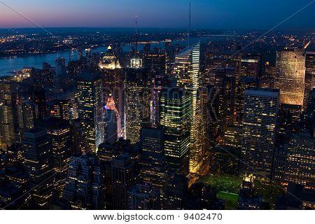 New York City - Midtown at Sunset
