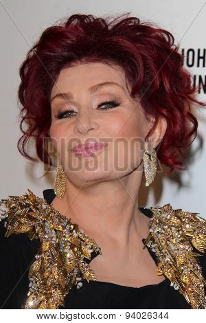 LOS ANGELES - MAR 3:  Sharon Osbourne at the Elton John AIDS Foundation's Oscar Viewing Party at the West Hollywood Park on March 3, 2014 in West Hollywood, CA