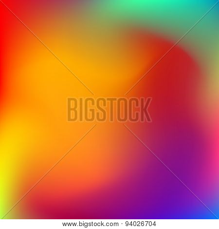 Abstract Blured Color Background