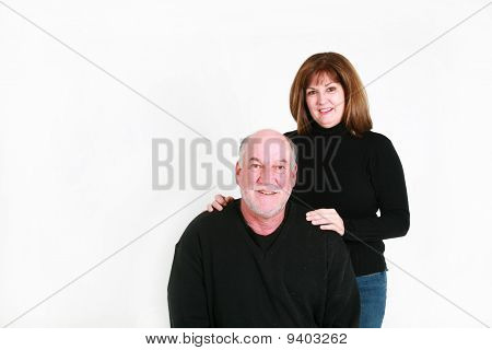 Senior Man And Wife