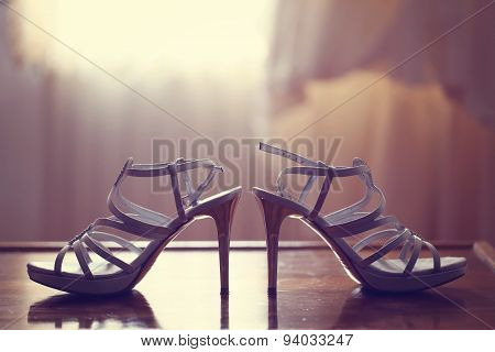 Sandals On Table