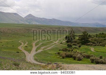 Roads Tuva
