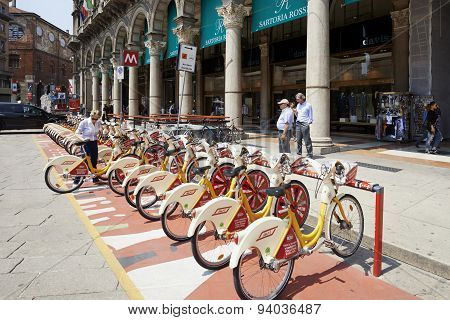 Bike Station Sharing