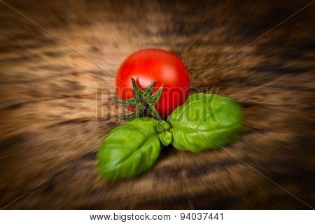Tomatoes pachino cherry tomatoes - blurred style photo