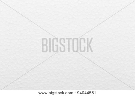 White foam board texture background