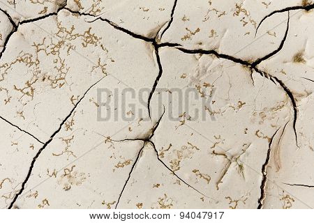 Pattern created from a photo cracked earth. Dry weather, drought.