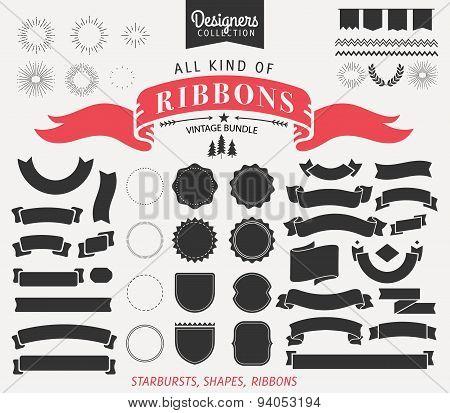 Vintage Premium Styled Ribbons