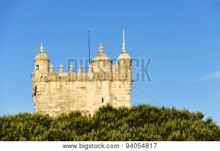 Belem Tower in Lisbon, Portugal, Europe