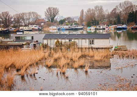 old house on the water