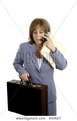 Businesswoman - Stressed & Frustrated