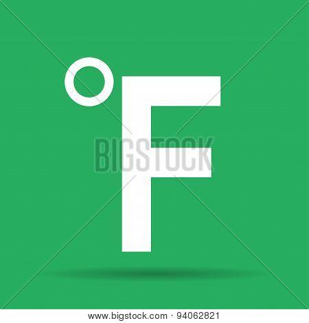 Fahrenheit Vector Icon