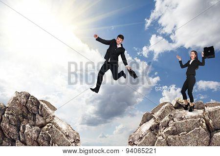 Over gap