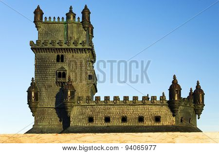 Belem Tower Model, Lisbon, Portugal
