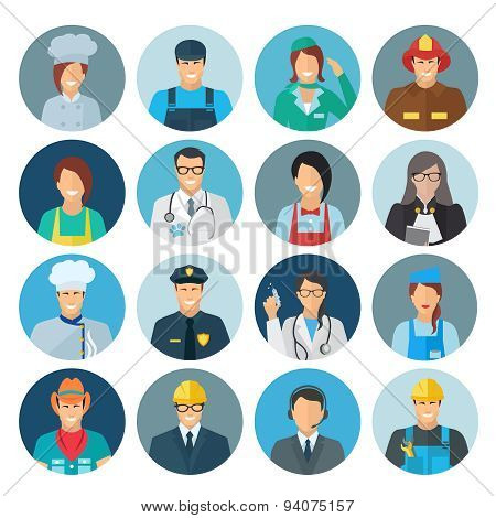 Profession Avatar Flat Icon
