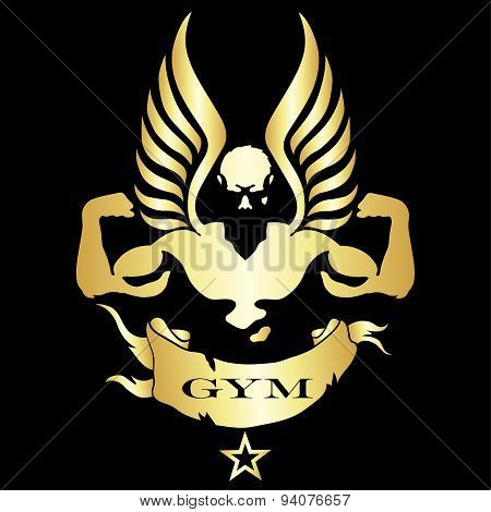 Symbol for Gym and fitness
