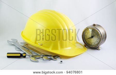Time For Work In Construction