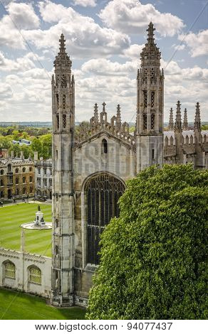 Kings College Chapel in Cambridge