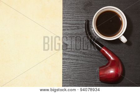 Coffee And Pipe