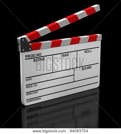 Opened Clapboard