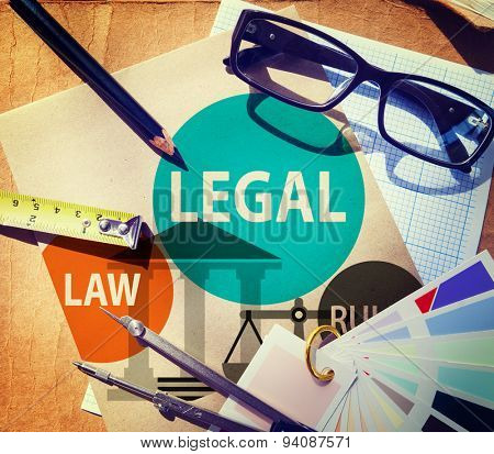 Legal Law Rules Community Justice Social Gathering Concept
