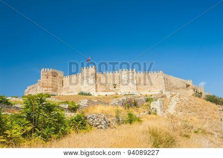 Ancient Roman Castle on Ayasoluk Hill, Selcuk, Turkey