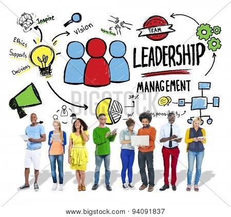 Diversity People Leadership Management Digital Communication Concept