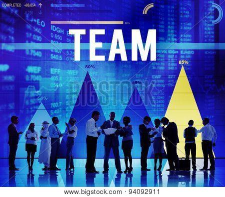 Team Teamwork Collaboration Cooperation Partner Concept