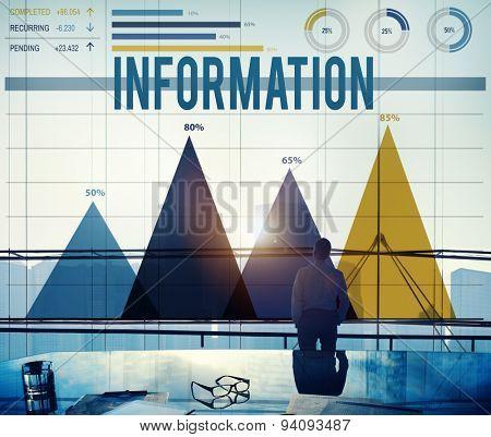 Information Info Data Analysis Storage Concept