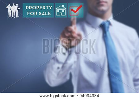 Property for sale concept