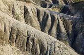 stock photo of semi-arid  - Loam landscape in Pyrenees - JPG