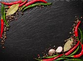 stock photo of peppercorns  - Chili pepper - JPG