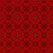 stock photo of kaleidoscope  - Kaleidoscopic mosaic red tile pattern made seamless - JPG