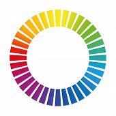 pic of dash  - Dashed circle or buffer circle  - JPG