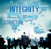 stock photo of integrity  - Integrity Structure Service Analysis Value Service Concept - JPG
