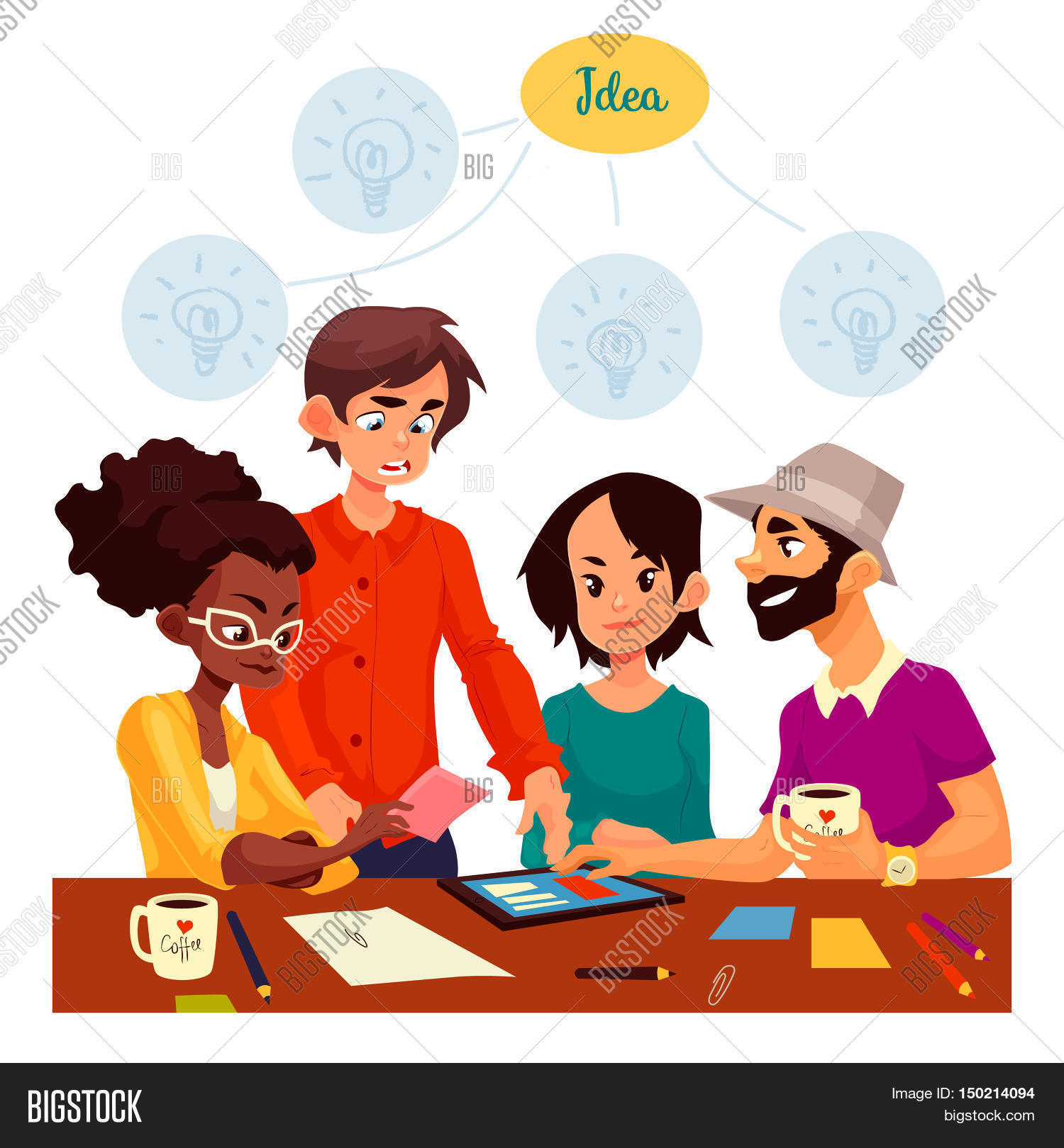 People planning clipart