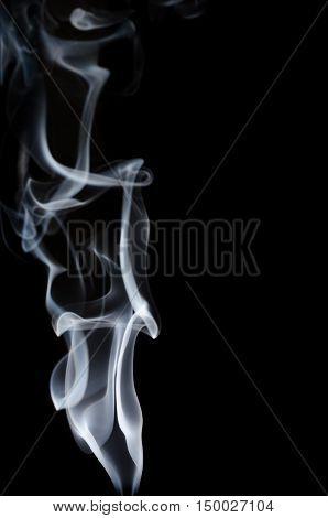 White Smoke On Black Background, White Smoke On Black Background, Smoke Background,white Ink Backgro