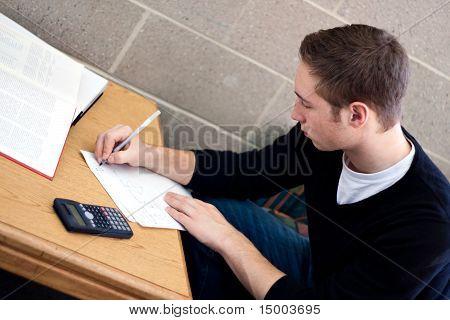 Schüler Hausaufgaben