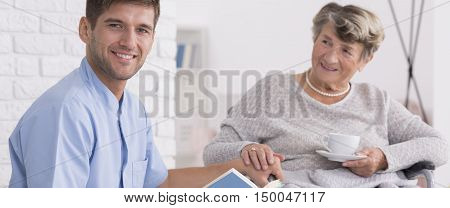 Close Relation Between Patient And The Caregiver