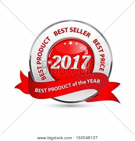 Best product of the Year 2017 Best seller and price - red shiny ribbon