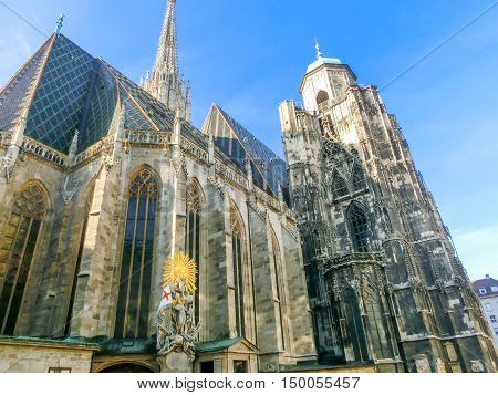 St. Stephan Cathedral in Vienna in Austria
