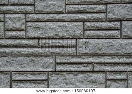 texture of stone masonry gray background multi-colored stone background