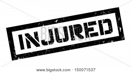 Injured Rubber Stamp
