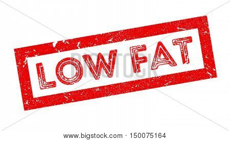 Low Fat Rubber Stamp